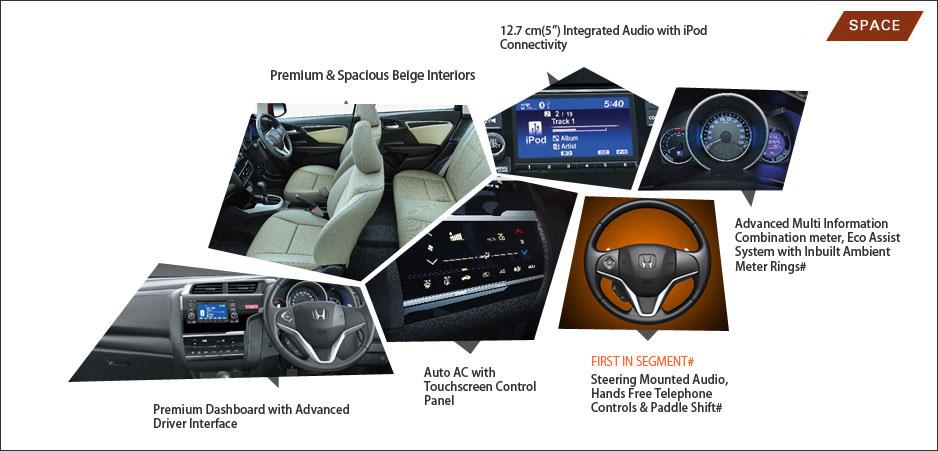 Honda jazz car interior solitaire honda